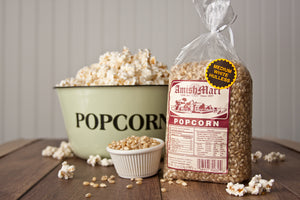 Gourmet Medium White Popcorn (Hulless) 2lb.