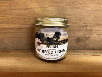 Dutch Country Whipped Honey - Pecan Flavor