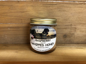 Dutch Country WHIPPED HONEY - Raspberry Flavor