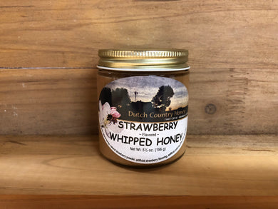Dutch Country Whipped Honey - Strawberry Flavor