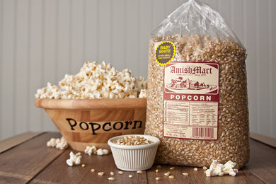 6 lb. Baby White Popcorn (Hulless)