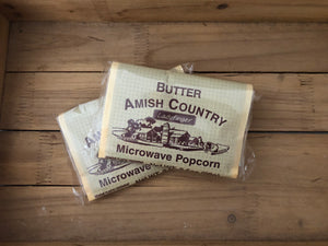 Amish Country Microwave Popcorn - Butter - Hulless