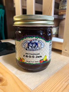 Amish Wedding 9oz F-R-O-G Jam