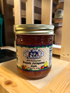 Amish Wedding 9oz Peach Jalapeño Jam