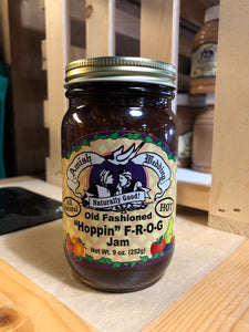 "Amish Wedding 9oz Hot ""Hoppin"" F-R-O-G Jam"