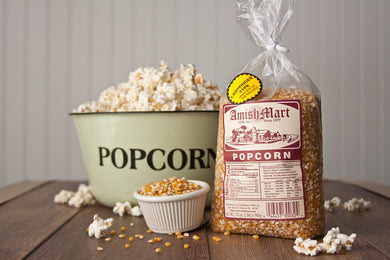 Gourmet Yellow Lady Finger Popcorn (Hulless) 2lb.