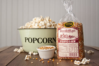 Gourmet Medium Yellow Popcorn 2lb.