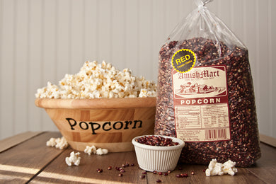 6 lb. Crimson Red Amish Country Popcorn