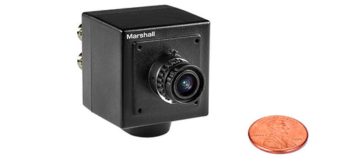 Marshall Electronics CV-4703.6-3MP 3.6mm 3MP F2.0 MP M12 Mount – original replacement lens (71°)