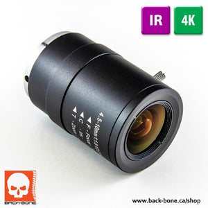 "1/2.3"" 4.5-10mm 10MP IR"