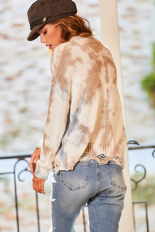 Tyler Distressed Sweater