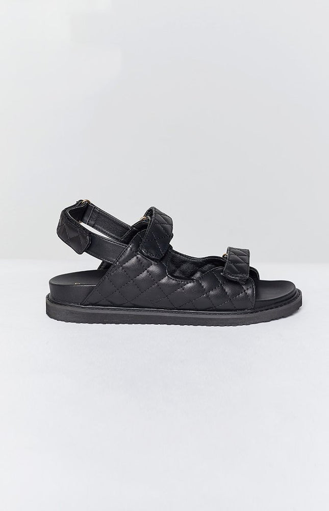 Billini Zora Chunky Sandal in Black