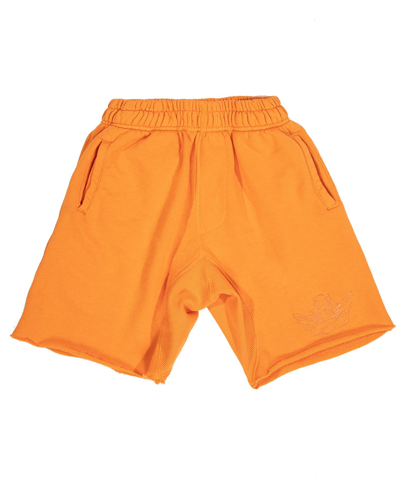 Boys Lie Classic V2 Shorts in Orange