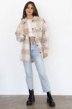 Dani Oversized Plaid Jacket