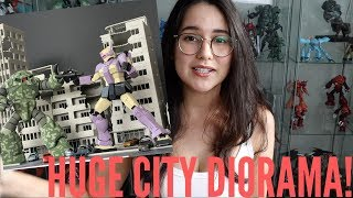 Large Destroyed City Diorama For Gundam Model Kits Review(Or