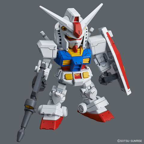 SDGCS RX-78-2 Gundam and Cross Silhouette Frame Set