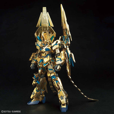 HG Unicorn Gundam 03 Phenex (Destroy Mode) (Narrative Ver.) (Gold Coating)