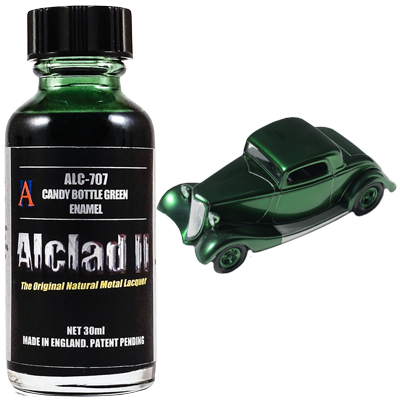 Alclad 707 Candy Bottle Green