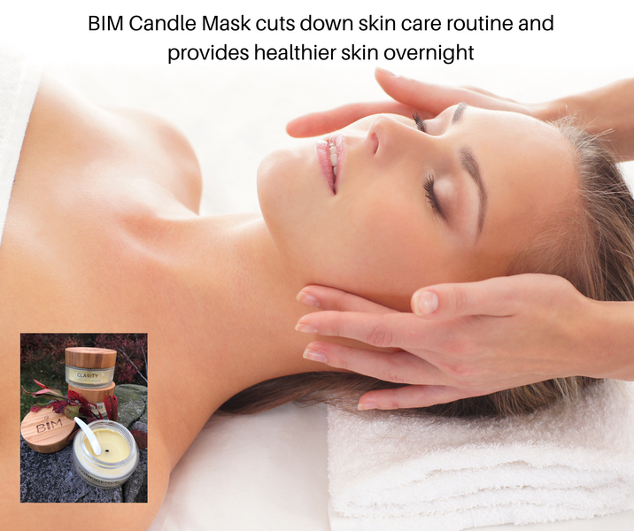 How to use our warm skin care mask by BIM Candle Mask