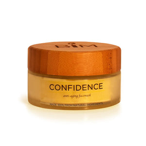 CONFIDENCE - Anti-Aging / Dry Skin Candle Mask candle mask is an aromatherapy candle and anti-aging face mask, formulated using only the purest organic ingredients to suit normal, combination, or sensitive skin