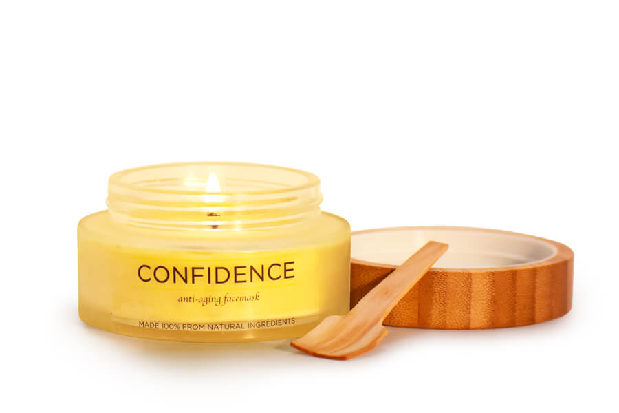 CONFIDENCE - Anti-Aging / Dry Skin Candle Mask