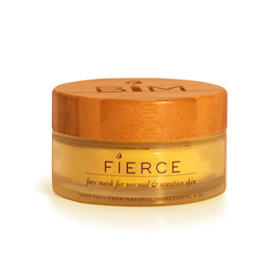 fierce jar candle face mask for natural and sensitive skin natural ingredients