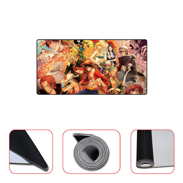 One Piece Team Mousepad