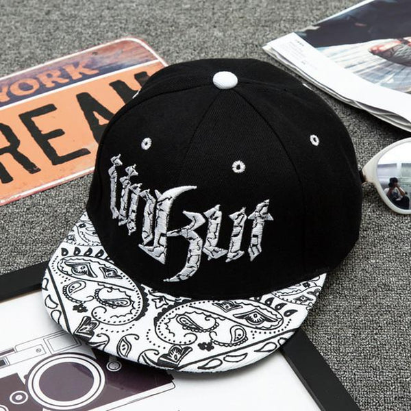 Three-Dimensional Embroidered Hat