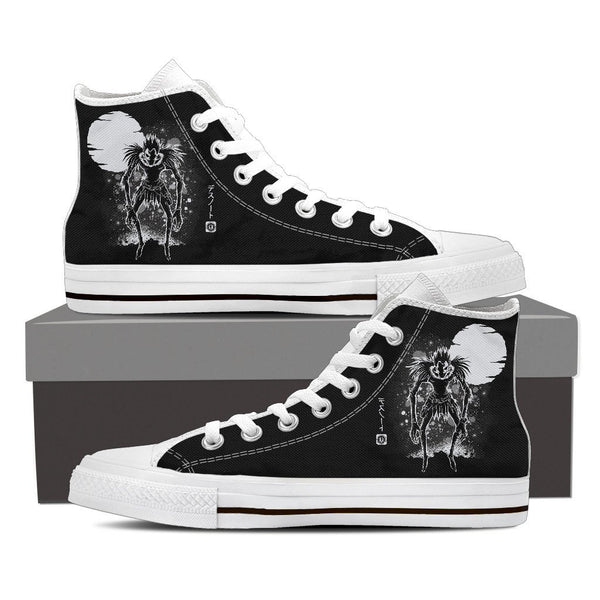 Death Note Ryuk High Top Canvas Shoe