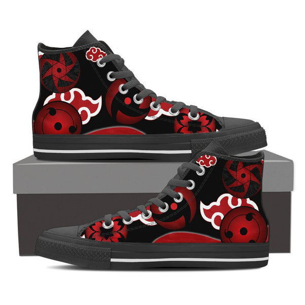 Uchiha Sharingan High Top Canvas Shoe