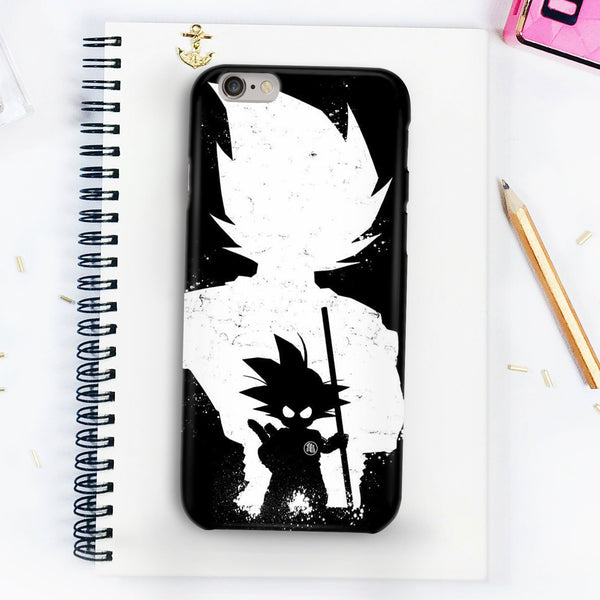 Goku Baby Black And White Photo Phone Case