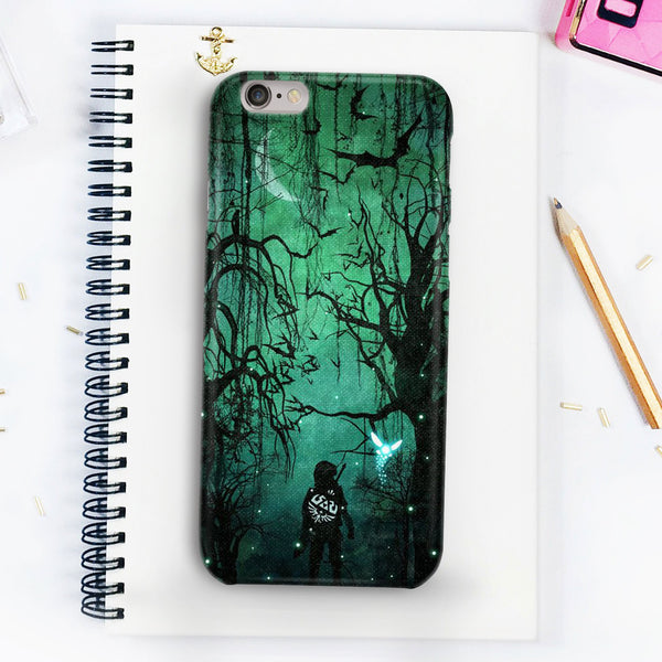 The Legend Of Zelda Link In The Forest Phone Case