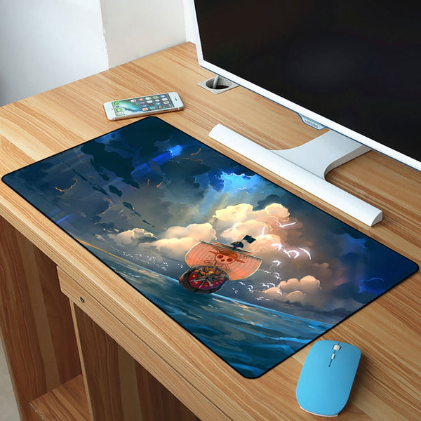 One Piece Thousand Sunny On The Sea Mousepad