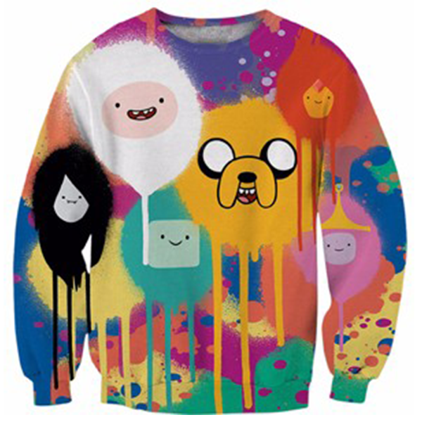 Adventure Time Full Color Shirts