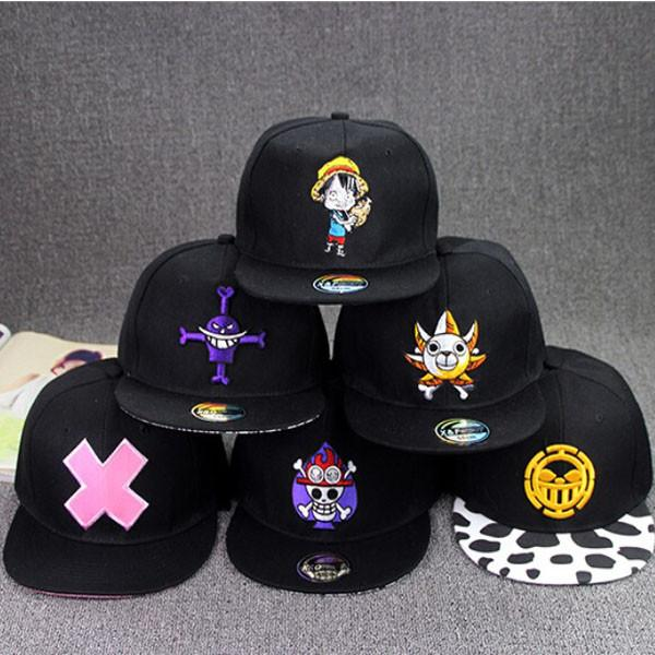 One Piece Snapback Hat