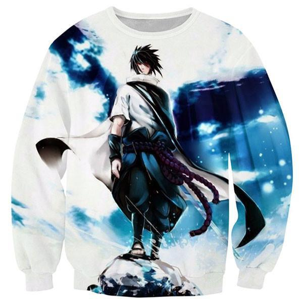 Cool Uchiha Sasuke Printed Shirts