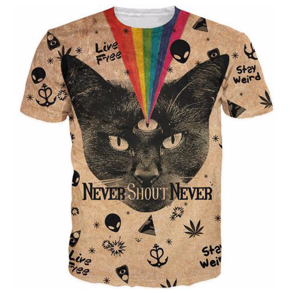 Rainbow Cat Shirts