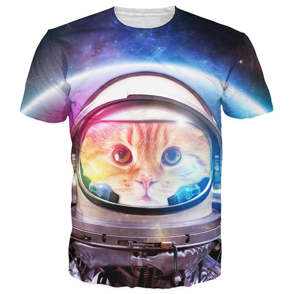 Astronaut Cat Shirts