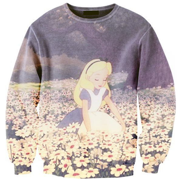 Alice In Flower Field Shirts