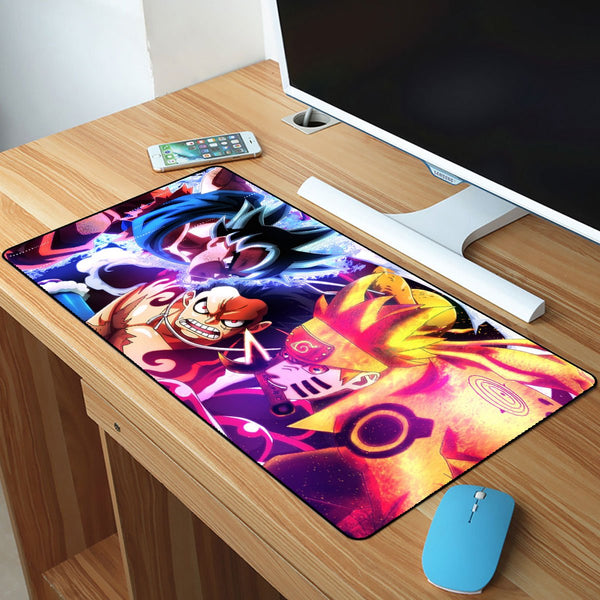 Dragon Ball Super Goku And Naruto Mousepad