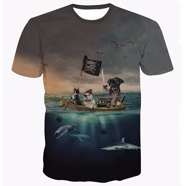 Pirates Cats Shirts