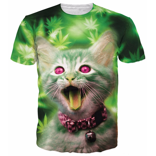 Pink eyes Cat Shirts
