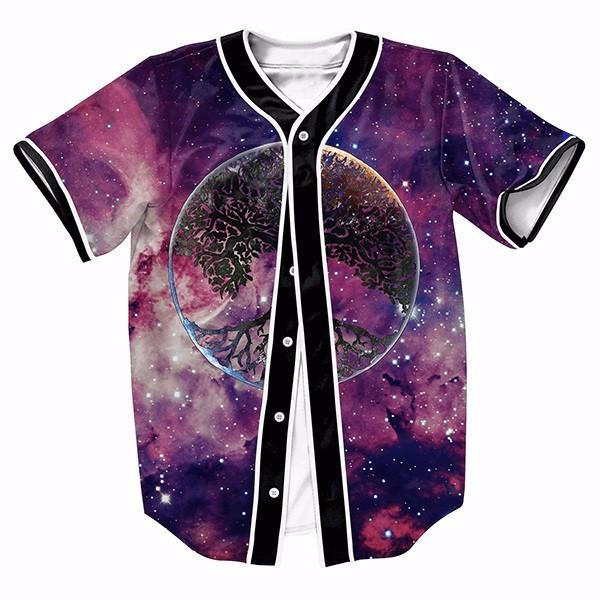 Galaxy Nice Trees New Shirts