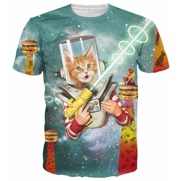 Gun Cat Shirts