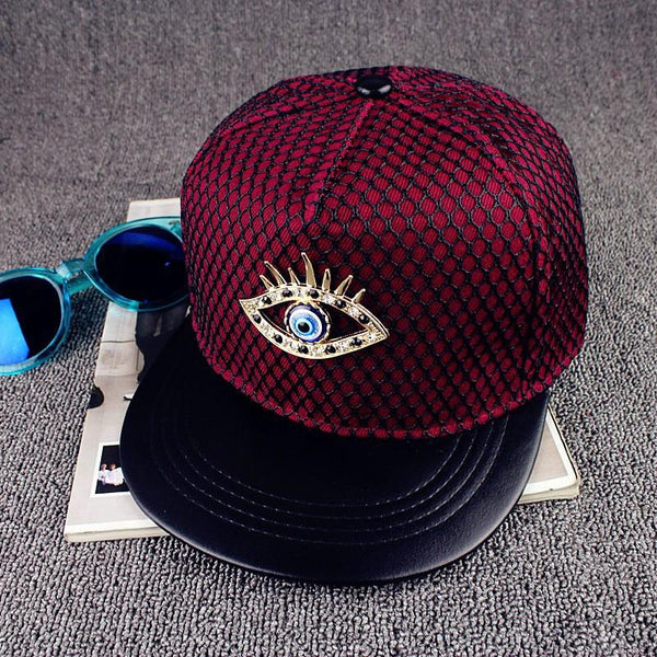 Metal Eye Baseball Hat