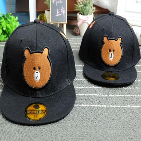 Brown Bear Baseball Hat