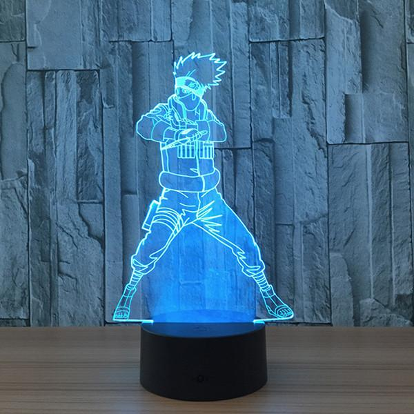 Kakashi LED 7 Colors Lamp