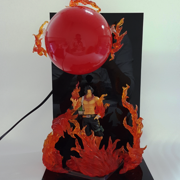 Ace Big Fire Ball 3D Lamp