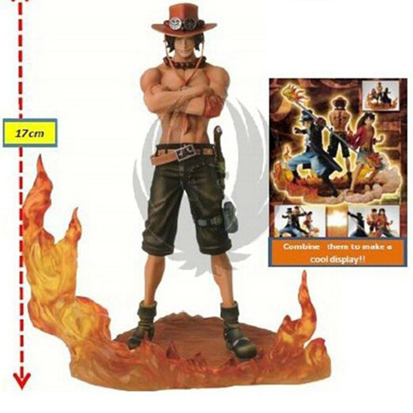 Ace Luffy Sabo Figure Toys