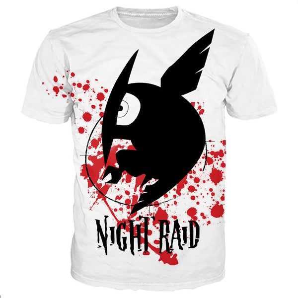 Night Raid Shirts